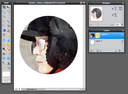 Pixlr Editor: How to Make a Circular Avatar (with Template