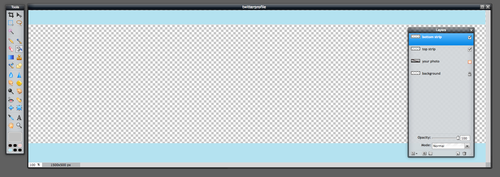 twitter banner image template file