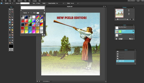 pixlr photo editor software