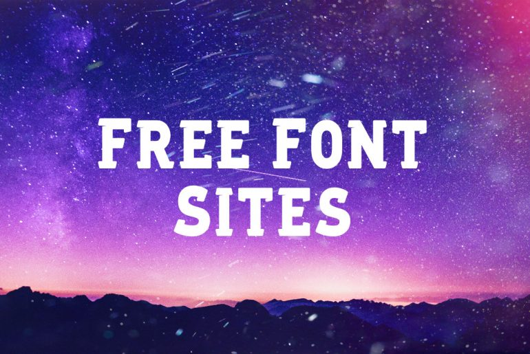 Top 5 Reliable Free Font Sites - PIXLR Blog
