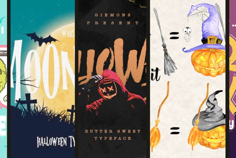 9 Halloween Fonts And Vectors To Add Spook Into Your Season - PIXLR Blog