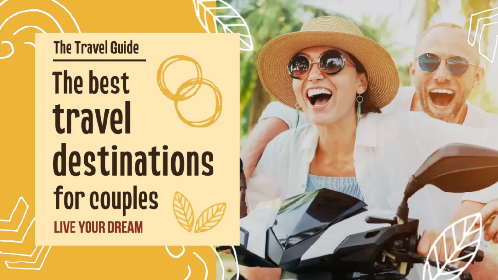 Travel Destinations for Couples Travel YouTube Cover Thumbnail